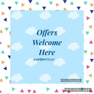 Other - We Welcome Reasonable Offers and Always Respond